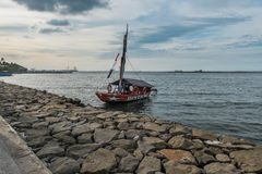 Barca tradizionale Immagine Stock