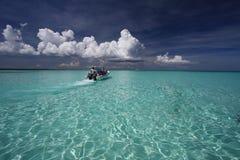 Barca tropicale Fotografia Stock