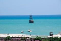 Barca in Turchia Fotografia Stock