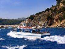 Barca turistica immagine stock
