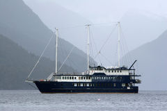 Barca turistica, Fotografie Stock