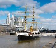 Barca Uruguay en Buenos Aires Imagen de archivo