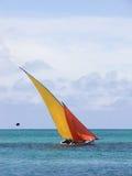 Barca variopinta fotografie stock libere da diritti