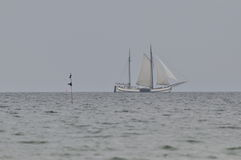 Barca a vela, Immagini Stock Libere da Diritti