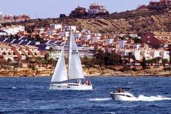 Barca a vela in Alicante Fotografia Stock