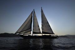 Barca a vela classica Fotografia Stock Libera da Diritti