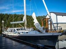 Barca a vela, Columbia Britannica, Canada Immagine Stock