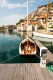 Barca a vela d'annata Fotografia Stock