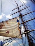Barca a vela d'annata Fotografie Stock Libere da Diritti