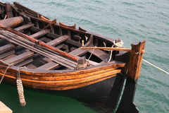 Barca a vela di legno Fotografie Stock Libere da Diritti