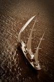 Barca a vela di lusso Immagine Stock Libera da Diritti