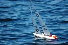 Barca a vela di modello Immagine Stock