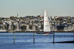 Barca a vela di Team New Zealand degli emirati Fotografia Stock Libera da Diritti