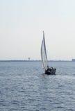 Barca a vela in Mar Baltico Immagine Stock Libera da Diritti