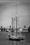 Barca a vela a New York Immagine Stock Libera da Diritti