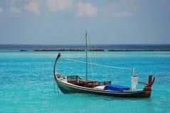 Barca a vela in Oceano Indiano Fotografia Stock