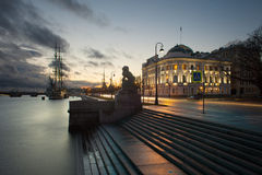 Barca a vela in San Pietroburgo Fotografie Stock Libere da Diritti