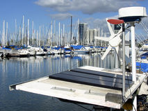 Barca a vela solare Immagine Stock Libera da Diritti