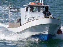 Barca veloce Fotografie Stock