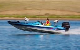 Barca veloce Fotografia Stock Libera da Diritti