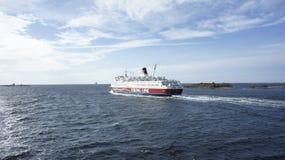 Barca Viking Line Immagine Stock