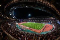 Barca VS Thailand. Barcelona Asia Tour 2013 Royalty Free Stock Photo