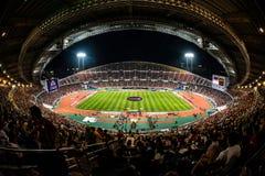 Barca VS Thailand. Barcelona Asia Tour 2013 Stock Photos