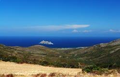 barcaggio可西嘉岛海岛 免版税库存图片