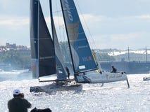 Barcaioli della concorrenza di estate Fotografia Stock Libera da Diritti