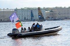 Barcaioli della concorrenza di estate Immagine Stock