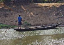 Barcaioli indiani Immagini Stock Libere da Diritti