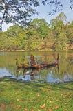 Barcas cerimoniais fotografia de stock