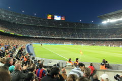 Barcellona - accampamento di Nou Fotografia Stock