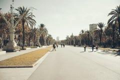 Barcellona, Arc de Triomf Fotografie Stock Libere da Diritti