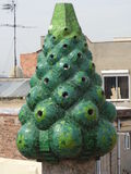 Barcellona chimney Royalty Free Stock Photography