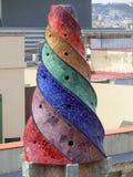 Barcellona chimney Stock Photography