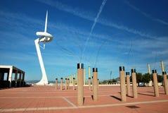 Barcellona, città olimpica Fotografia Stock Libera da Diritti