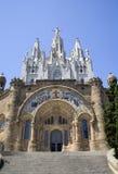 Barcellona - cuore de Jesus di Sagrad della chiesa immagine stock