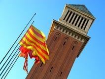 Barcellona, d'Espana 05 di Plaça Fotografia Stock