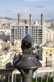 Barcellona di sorveglianza Immagine Stock