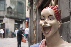 Barcellona felice Fotografia Stock