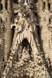 Barcellona - particolare dalla La Familia di Sagrada Fotografia Stock