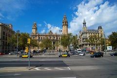 Barcellona Ramblas Immagini Stock