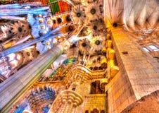 A Barcellona in Spagna Fotografia Stock