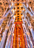 A Barcellona in Spagna Immagine Stock Libera da Diritti