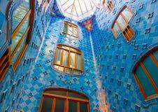 A Barcellona in Spagna Fotografie Stock Libere da Diritti