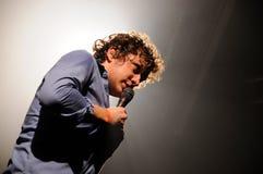 D MacFarlane, cantante dei fuochi amici Fotografia Stock Libera da Diritti