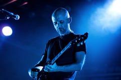 Moby esegue a Barcellona Fotografie Stock
