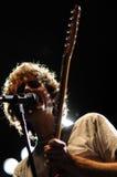 Luke Jenner, cantante della banda di entusiasmo Fotografie Stock