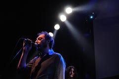 La banda di Los Planetas esegue a Apolo Immagine Stock Libera da Diritti